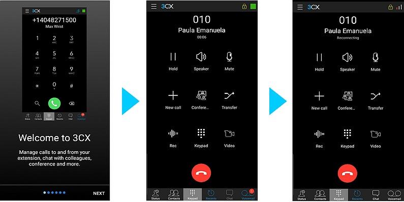 Приложения 3CX для iOS и Android: преимущества и эффективность использования для удаленной работы